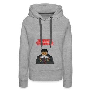 Gendo things - Sudadera con capucha premium para mujer