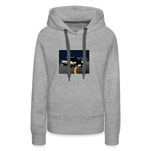 Initial D Drifting Akina - Vrouwen Premium hoodie