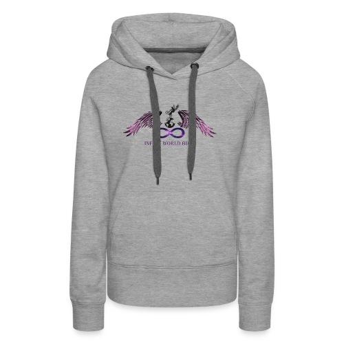 INFINY WORLD BIKE - Sweat-shirt à capuche Premium pour femmes