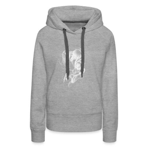 Ojo - Sudadera con capucha premium para mujer