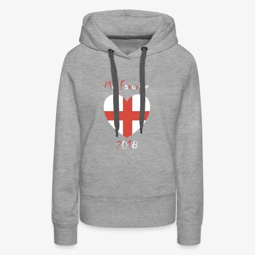 Mein Favorit T-Shirt England - Frauen Premium Hoodie