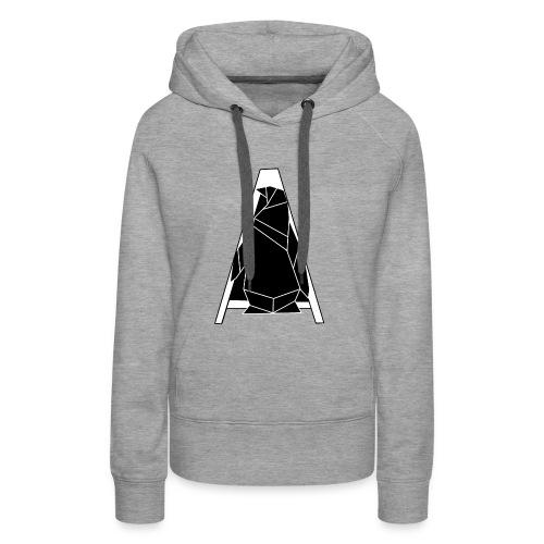 A Penguin Hintergrundlos Pinguin - Frauen Premium Hoodie