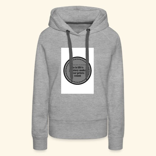 So is life s journey - Women's Premium Hoodie