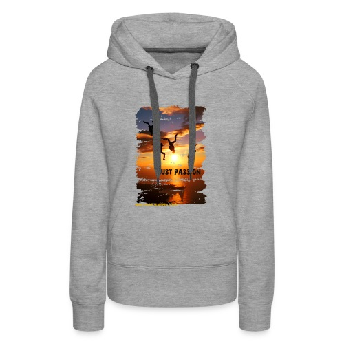 JUST PASSION - Frauen Premium Hoodie