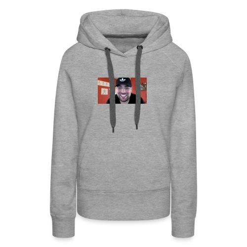 Qucee man bro - Vrouwen Premium hoodie
