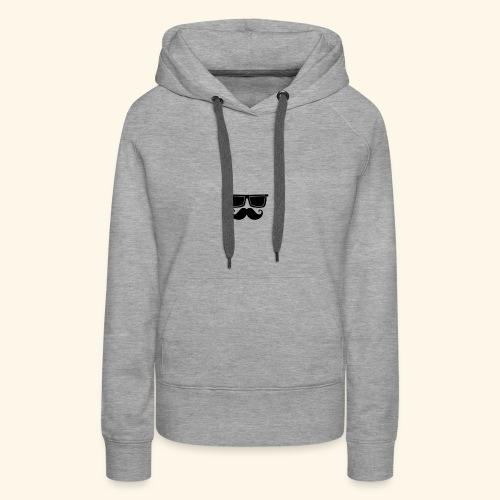 hipster style - Sweat-shirt à capuche Premium pour femmes
