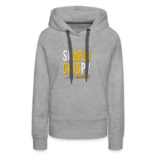 simplycrispy logo - Frauen Premium Hoodie