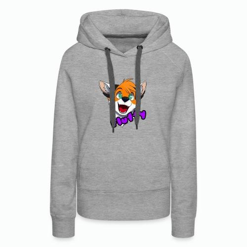 FluffyTheFox Badge - Frauen Premium Hoodie