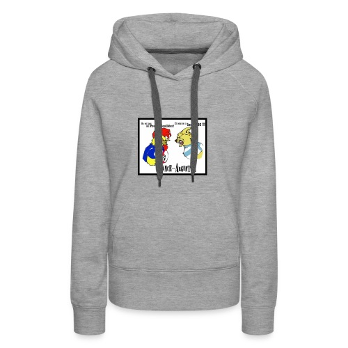 france argentine - Sweat-shirt à capuche Premium pour femmes