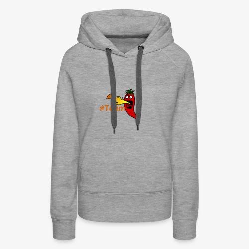 TeamChili - Frauen Premium Hoodie
