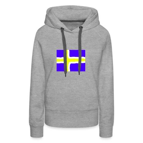SwedishFlag Caps - Premium hettegenser for kvinner