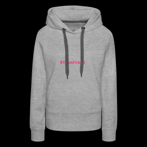 Pink #TeamPrexa LOGO - Frauen Premium Hoodie