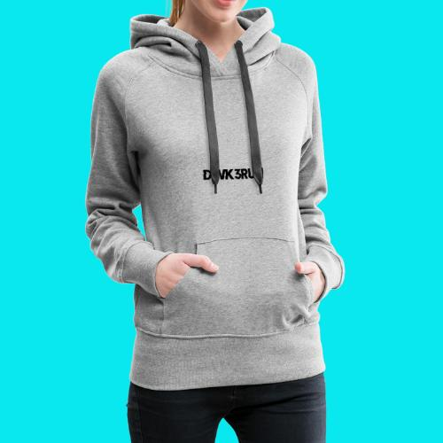 DWK3RUN Glitch Logo - Frauen Premium Hoodie