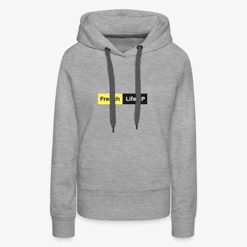 image officielle du serv - Sweat-shirt à capuche Premium pour femmes