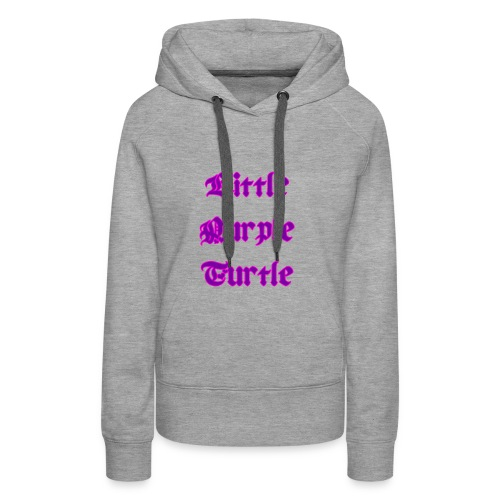 Little Purple Turtle - Women's Premium Hoodie