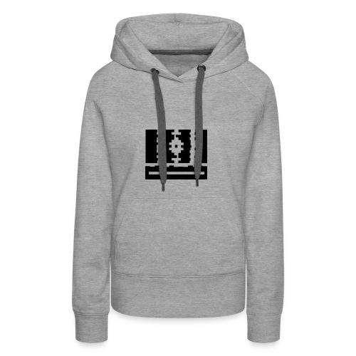 SCHWARZ - Frauen Premium Hoodie