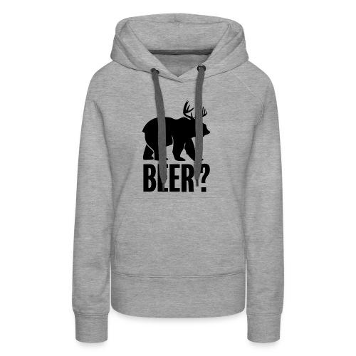 Beer - Sweat-shirt à capuche Premium pour femmes