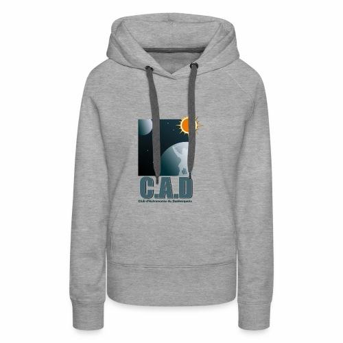 Logo CAD 2018 - Sweat-shirt à capuche Premium pour femmes