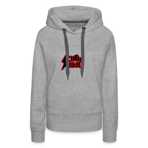 Logo Cantal Cruiser - Sweat-shirt à capuche Premium pour femmes