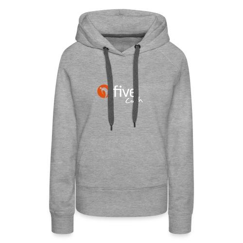 Logo five-Coach - Frauen Premium Hoodie