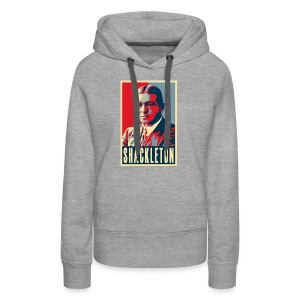Sir Ernest Shackleton (red, white & blue colours) - Women's Premium Hoodie