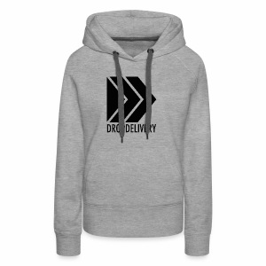 DropDelivery Main Collection - Black - Frauen Premium Hoodie