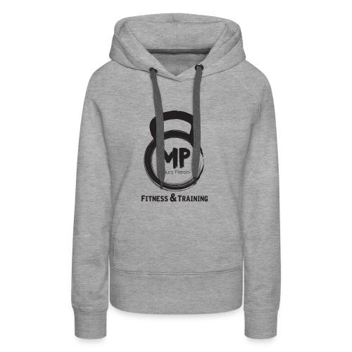 lo MP def - Felpa con cappuccio premium da donna