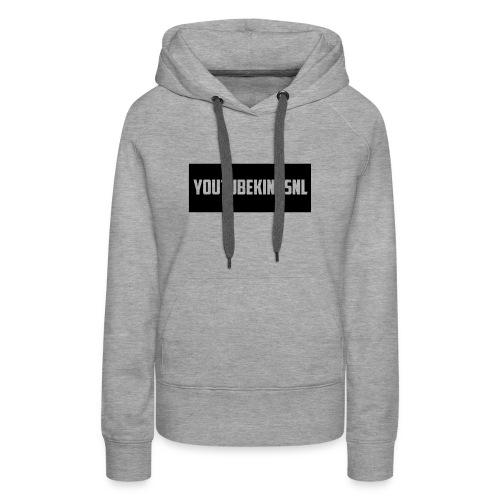 YoutubeKingsNL Bar Logo - Vrouwen Premium hoodie