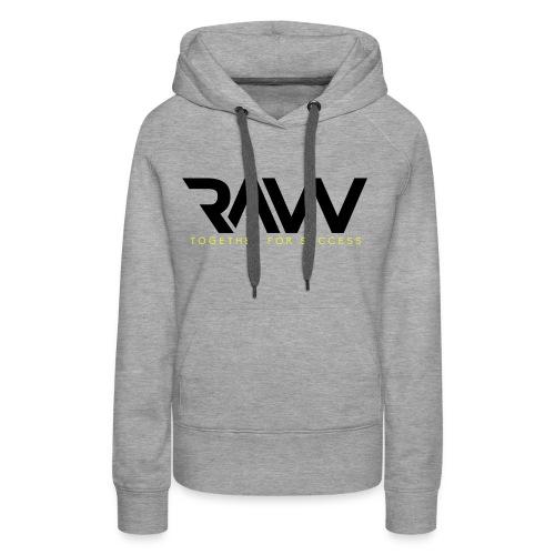 Raw - Sweat-shirt officiel - Femme - Sweat-shirt à capuche Premium pour femmes