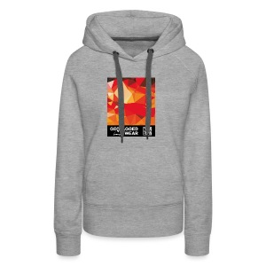 Camouflage Orange Blast – Muskoka Collection 1708 - Frauen Premium Hoodie
