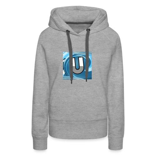 Ungeclasht TV Logo Design - Frauen Premium Hoodie