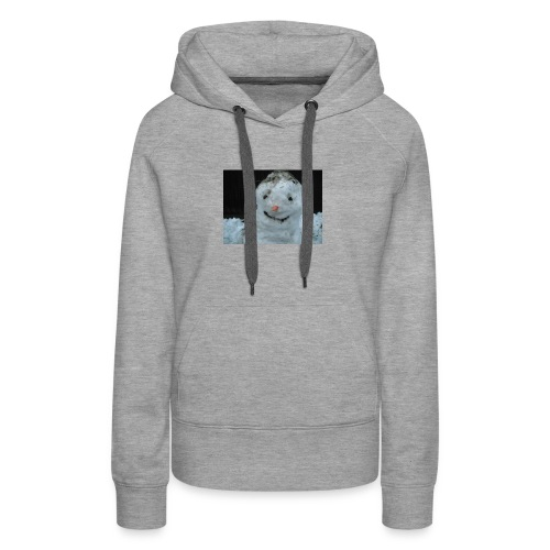 Snow Man - Women's Premium Hoodie