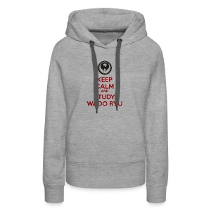 Keep Calm and Carry On - Women's Premium Hoodie