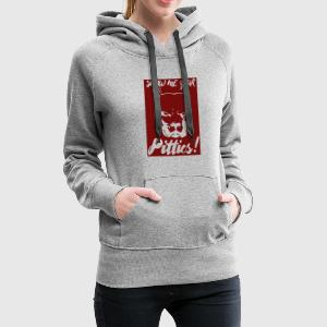 Hund / Pitpull: Show Me Your Pitties! - Frauen Premium Hoodie