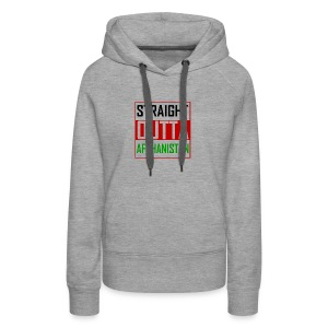 STRAIGHT OUTTA AFGHANISTAN - Women's Premium Hoodie