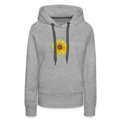Meine Sonnenblume - Frauen Premium Hoodie