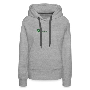 Logo DomesSport Green noBg - Frauen Premium Hoodie