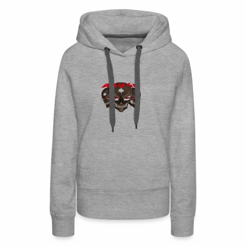 Three Skulled Adv4u - Frauen Premium Hoodie