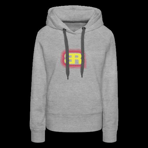 Logo Rot/Gelb - Frauen Premium Hoodie