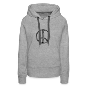 PEACE statement design - Frauen Premium Hoodie