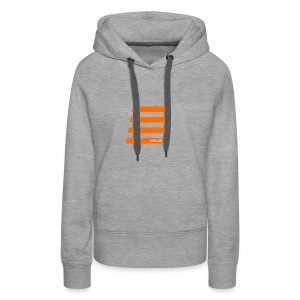 Orange Bars - Frauen Premium Hoodie