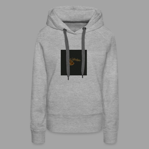 Günni Günter Design Black Background- - Frauen Premium Hoodie
