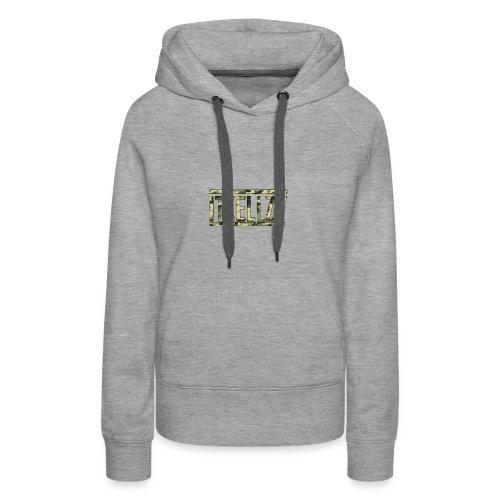 Camo Itz Ellzy logoc - Women's Premium Hoodie