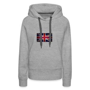 England is my city t shirt - Vrouwen Premium hoodie