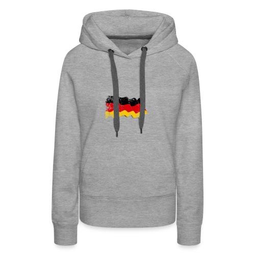 Deutschland Flagge - Frauen Premium Hoodie
