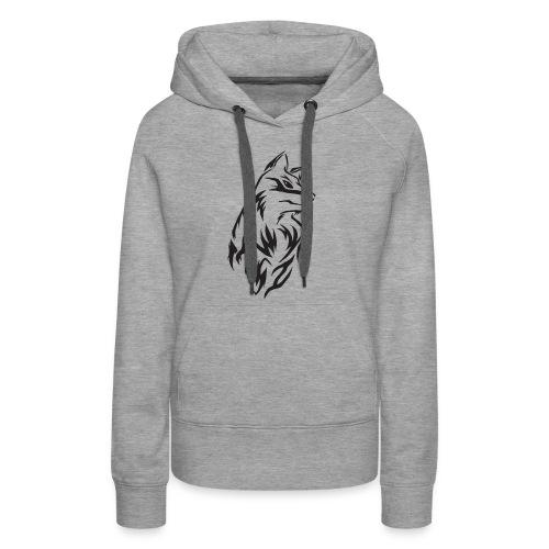 Wolf - Premium Shirt Design - Frauen Premium Hoodie
