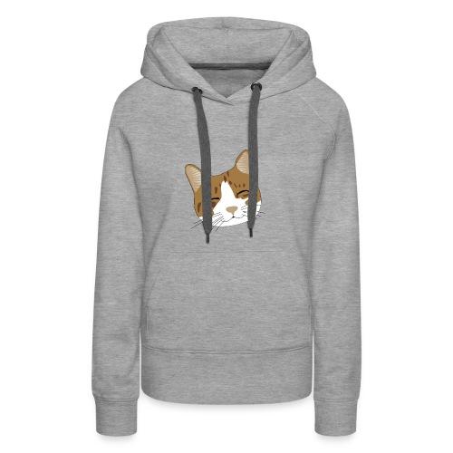 Süßes Schnurr Miau Kätzchen Katze - Frauen Premium Hoodie