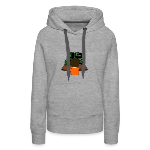The small coder - Women's Premium Hoodie