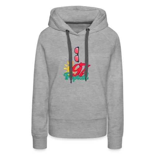 A01 4 - Sweat-shirt à capuche Premium pour femmes