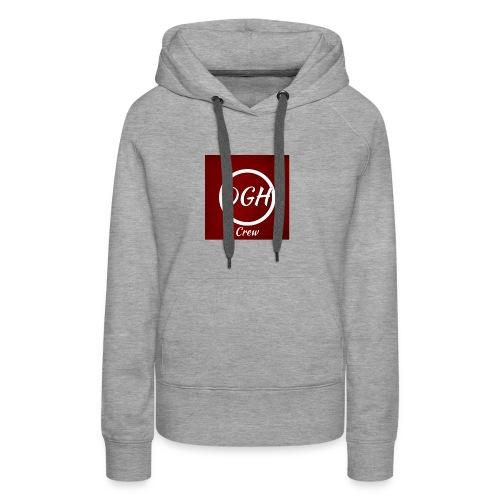 DGH rood - Vrouwen Premium hoodie